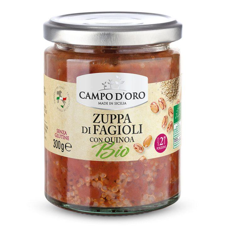 Cdz01 Zuppa Fagioli Bio