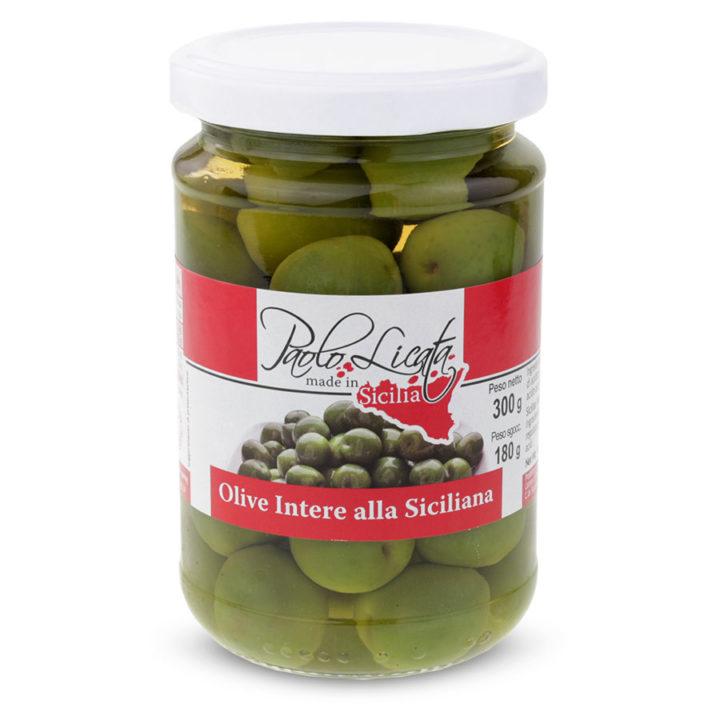 Pl060 Olive Intere alla Siciliana