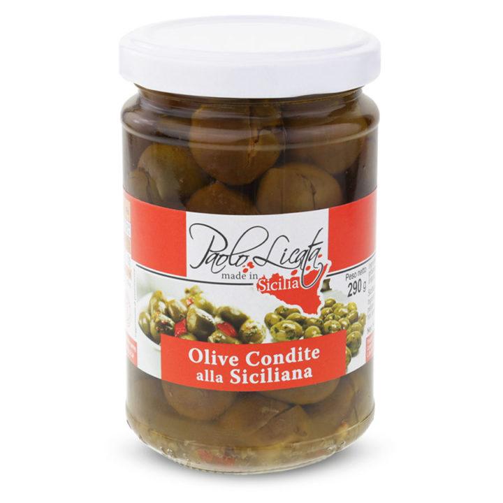 Pl064 Olive Condite alla Siciliana