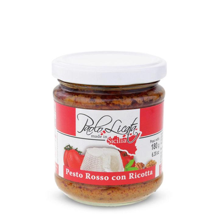 Pl119r Pesto Rosso con Ricotta
