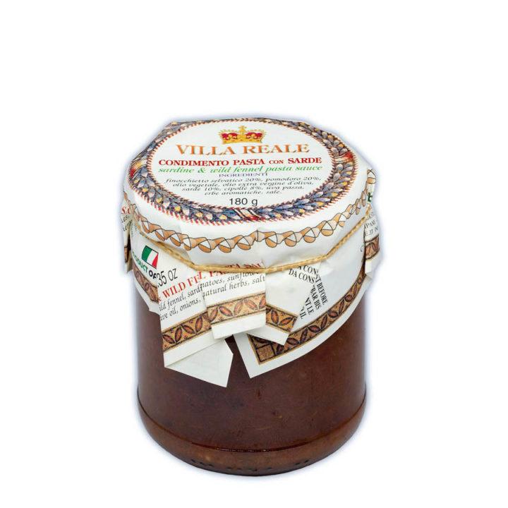 Vr037 Condimento Pasta Con Sarde